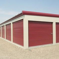 Self-storage facilities operate with only one or two small offices. Storage Rental, Boat Storage, Built In Storage, Garage Storage, Business Storage, Storage Building Plans, Self Storage Units, Prefab Cabins, Autos