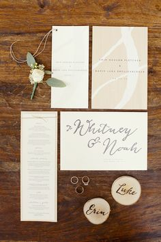 wedding invite.