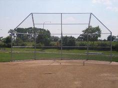 Softball Backstop | baseball backstop Baseball Field, Softball, Tennis, Diamond, Sports, Ideas, Fastpitch Softball, Hs Sports, Diamonds