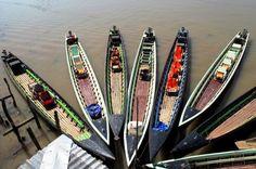 Barche, Birmania