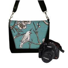Padded Camera Bag DSLR Camera Tote Bag Slr by janinekingdesigns, $89.99