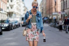 Rain Can't Hold Back the Best of Stockholm Street Style Photos | W Magazine