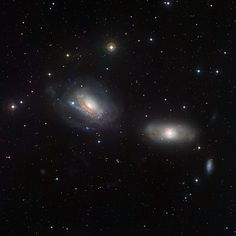 deep-sky-astronomy:  NGC 3169 and NGC 3166