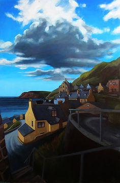 Bryan Angus Scottish Artist, painter, pastels, lino prints | Oil Paintings
