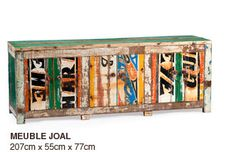 African furniture upcycling design (from fishermen boats). ARTLANTIQUE - Collection. Chaise avec dossier pointu. Meuble Joal.