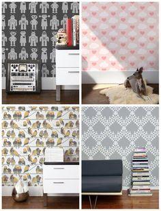 Aimee Wilder Wallpaper Samples (A-F)