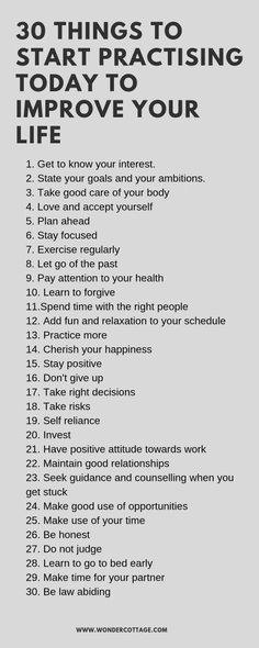 Want to live an amazing life? Here are 30 things you can start practising today to help improve your life. How To Better Yourself, Improve Yourself, Def Not, Self Care Activities, Self Improvement Tips, Self Care Routine, Getting To Know You, Life Advice, Self Development