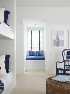 KENSETT PIPER - Lynn Morgan Design . bunk beds . window seat . light pictures .