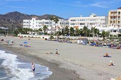 Playa El Chorillo, Nerja, Spain Nerja, Cosy, Beaches, Beach