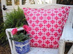 Euro Sham - Dorm Bedding - College Bedding - Pink