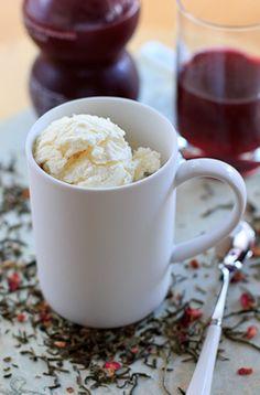 Peanut Butter & Dill Pickles: Pomegranate Tea Ice Cream--Day 6: Ice Cream Marathon