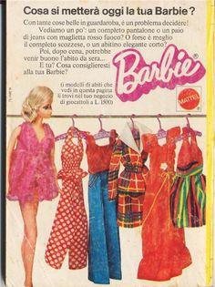 Italian Barbie Ad