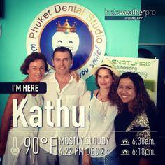 Patient from Austria at phuket dental studio