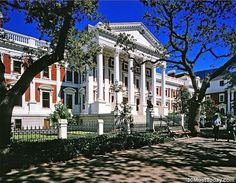 Most Beautiful Parliament Buildings: Houses of Parliament, Cape Town Beautiful Homes, Most Beautiful, Danube River, Cape Town South Africa, Houses Of Parliament, Capitol Building, Famous Landmarks, Africa Travel, Business Travel