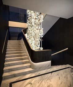 Home Stairs Design, Interior Staircase, Stairs Architecture, Railing Design, Home Room Design, Modern House Design, Architecture Design, Modern Stair Railing, Modern Stairs