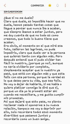 Discover recipes, home ideas, style inspiration and other ideas to try. Love Quotes For Boyfriend, Sad Love Quotes, Life Quotes, Amor Quotes, Ex Amor, Mexican Quotes, Sad Texts, Love Text, Love Phrases