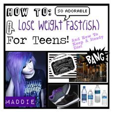 """How To Lose Weight Fast(ish) For Teens"" by musiclovermads ❤ liked on Polyvore featuring beauty, C9 by Champion, Madden Girl and bathroom"