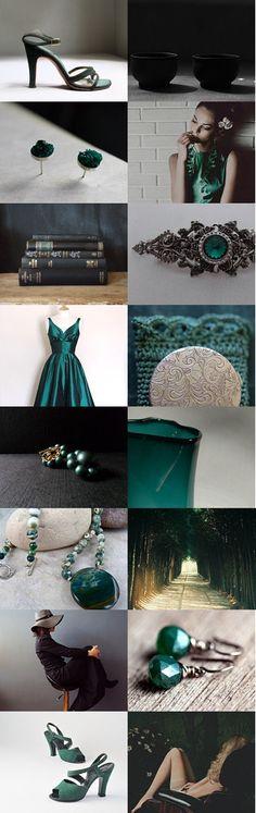 Green Vixen by Andrea Hurley on Etsy--