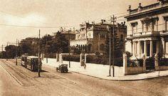 Η οικία Ράλλη-Σκαραμαγκά (το κτίριο αριστερά- δίπλα στην οικία Μπενάκη) ήταν από τα τελευταία μέγαρα που χτίστηκαν στη Βασιλίσσης Σοφίας, γύρω στο 1920 (κατεδαφίστηκε το 1955).