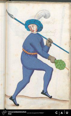 Nürnberger Schembart-Buch Erscheinungsjahr: 16XX  Cod. ms. KB 395  Folio 237