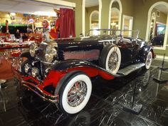 Another great Duesie in the Duesenberg Exhibit Hall at the Volo Auto Museum, Volo, IL   www.volocars.com