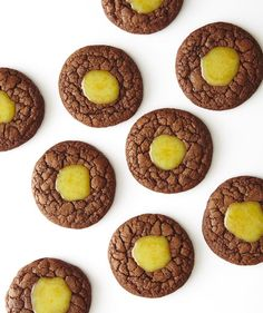These chewy, fudgy cookies are heavenly on their own or filled with a white chocolate ganache brightened by citrus and vanilla.
