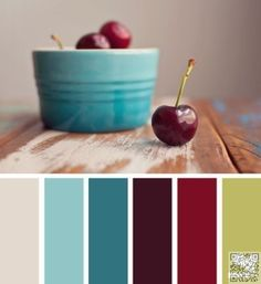 4. #Cherries - Need Color #Inspo? These Room #Palettes Will Help! ... → DIY…