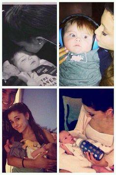 Ariana Grande & her Godson Oliver ♥