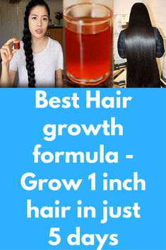 Best Hair growth formula - Grow 1 inch hair in just 5 days Getting a perfect styled hair has become a dream. No matter what you do, your hair are falling. You become afraid to wash your hair, put a comb through your hair. If you are also having the same problems, then I have a got Magical treatment for you all. It's a recipe that will boost …