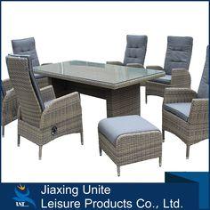 2016 barato de poli muebles de ratán jardín UNT-926