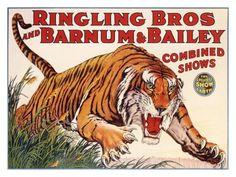 Barnum & Bailey poster