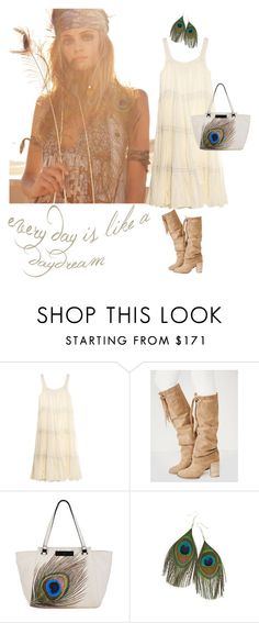 """Every day is like a daydream!"" by katerinag ❤ liked on Polyvore featuring Mes Demoiselles..., Free People, Elliott Lucca, women's clothing, women's fashion, women, female, woman, misses and juniors"