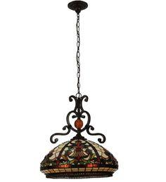 Baroque 3 Light Bowl Pendant