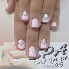 Black Nail Designs, Nail Art Designs, Fancy Nails, Cute Nails, Black Nails, Pink Nails, Nail Art Hacks, Beautiful Nail Art, Hair Beauty