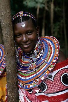KENYA, AMBOSELI, MASAI WOMAN, PORTRAIT - Been there