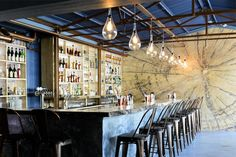 This experiential cocktail kitchen just off Kloof Street is turning traditional on its head with unique creations that look (almost) too good to drink. Top 10 Gins, Pineapple Beer, Snack Platter, Types Of Cheese, Cocktails, Course Meal, Traditional, Turning, South Africa