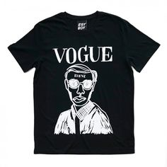 VOGUE BLACK TEE