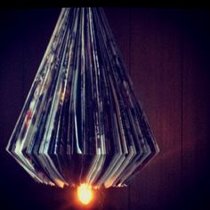 Folded mag lamp...