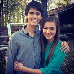 John Luke and Sadie #duckdynasty. Relax ladies, they're brother and sister. He's mine.