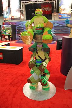 Teenage Mutant Ninja Turtles - out of LEGOs!