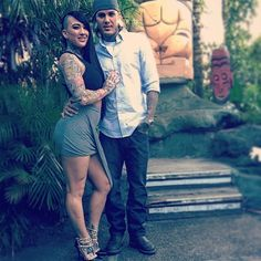 Tyler Nolan and his girlfriend Marissa LaRen. By far my favorite couple and two of my fav tattoo artists. Tyler Nolan, Man Crush Monday, Ink Master, Tattoo Artists, Tatoos, Girlfriends, Body Art, Piercings, My Favorite Things