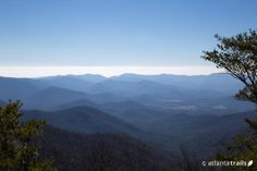 The Arkaquah Trail Hikes to Stunning Views Along its Stretch to Track Rock Gap #georgiahikes