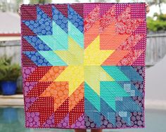 When You Wish...Baby Quilt Pattern | Wish upon a star with this pretty baby quilt pattern!