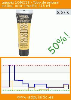 Liquitex 1046229 - Tubo de pintura acrílica, color amarillo, 118 ml (Varios). Baja 50%! Precio actual 6,67 €, el precio anterior fue de 13,33 €. https://www.adquisitio.es/liquitex/1046229-tubo-pintura-18