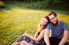 REAL MD ENGAGEMENT: Sunset at the Conservancy   Southern Maryland Weddings   Photos by M Rose Photography, LLC #somdweddings #engagement