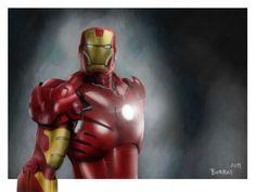 Iron Man  by Manuel Borras