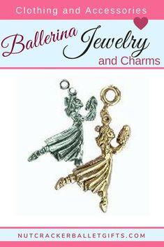 ff231b2a1 Dancing Clara Nutcracker in Gold or Silver Charm. Guaranteed to be a most  joyful addition