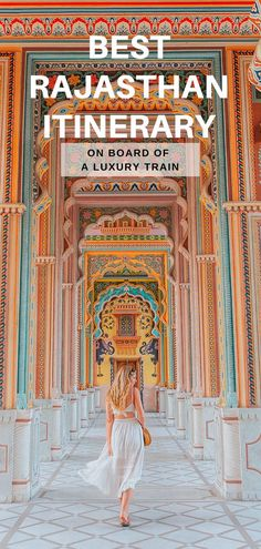 Best Rajasthan itinerary on board India's top luxury train: Palace on Wheels - W. - Best Rajasthan itinerary on board India's top luxury train: Palace on Wheels – Where life is gr - Jaisalmer, India Travel Guide, Asia Travel, Travel Route, Train Travel, Agra, Jodhpur, Palace, Ancient Greek Architecture