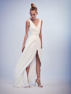 Geometric Romance: ambacherVIDIC 2016 - #Hochzeitskleid #Brautkleid
