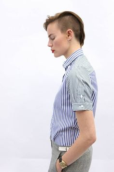 www.sjw.clothing Androgyny, tomboy, menswear tailoring, unisex Modelled by…